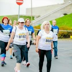 Tallinna Maratoni Sügisjooks 10 km - Anneli Rumm (8187), Anne Roosipõld (8603)