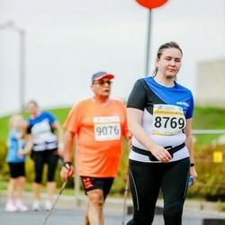 Tallinna Maratoni Sügisjooks 10 km - Erli Elken-Januško (8769), Armenak Barsegian (9076)