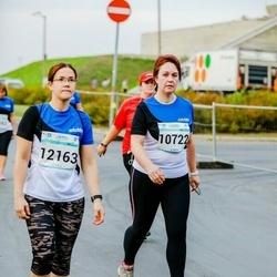 Tallinna Maratoni Sügisjooks 10 km - Õie Reinmets (10722), Kristiina Kindel (12163)