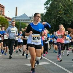 Tallinna Maratoni Sügisjooks 10 km - Anna-Liisa Tõnismäe (4020)