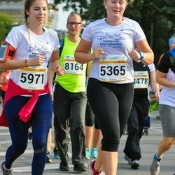 Tallinna Maratoni Sügisjooks 10 km - Brit Truuts (5365), Eleri Narits (5971)