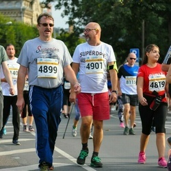 Tallinna Maratoni Sügisjooks 10 km - Ari Ollila (4899), Marko Pikkarainen (4901)