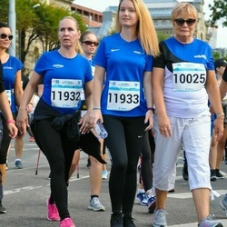 Tallinna Maratoni Sügisjooks 10 km - Riina Ilomets (10025), Agnes Rull (11932), Margareth Tenno (11933)
