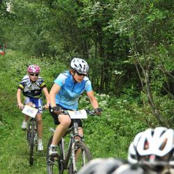 Türi Rattapoe jalgrattakross - Tiia Riis (24), Anni Jalakas (26)