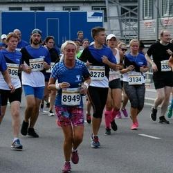 Tallinna Maratoni Sügisjooks 10 km - Aarne Lätte (989), Carina Eriksson (8949)