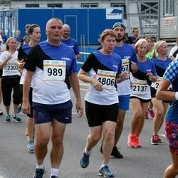 Tallinna Maratoni Sügisjooks 10 km - Aarne Lätte (989), Virge Virunurm (4806)