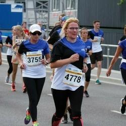 Tallinna Maratoni Sügisjooks 10 km - Evi Vaino (3755), Anneli Riima (4778)