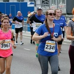 Tallinna Maratoni Sügisjooks 10 km - Anna Lõsaja (2349), Anna Semenova (3967)
