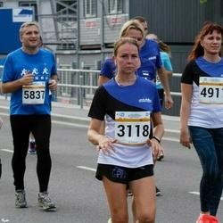 Tallinna Maratoni Sügisjooks 10 km - Annika Kaljula (3118), Kairi Maidla (3306), Merle Saul (4911), Kalev Suik (5837)