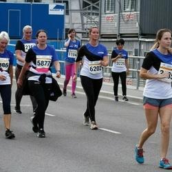 Tallinna Maratoni Sügisjooks 10 km - Chihiro Watanabe (3225), Ave-Triin Lupina (5877), Karin Pushkin (5886), Kärt Kanne (6202)