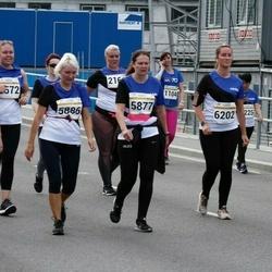 Tallinna Maratoni Sügisjooks 10 km - Chihiro Watanabe (3225), Kristi Kuld (5874), Ave-Triin Lupina (5877), Karin Pushkin (5886), Kärt Kanne (6202)