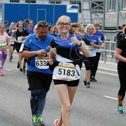 Tallinna Maratoni Sügisjooks 10 km - Karin Kelder (3007), Carina Veervald (5183), Meelis Pernits (6330)