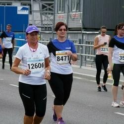 Tallinna Maratoni Sügisjooks 10 km - Anastassia Saar (2275), Siret Kasela (3553), Gätlin Vunk (8471), Valentina Trostnikova (10029), Tiina Põld (12606)