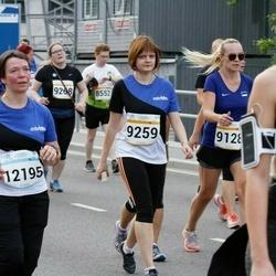 Tallinna Maratoni Sügisjooks 10 km - Helena Tartu (9128), Kristina Kaniava-Ljašenko (9259), Aet Variksoo (12195)