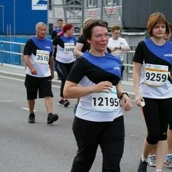 Tallinna Maratoni Sügisjooks 10 km - Kristina Kaniava-Ljašenko (9259), Aet Variksoo (12195)