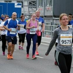 Tallinna Maratoni Sügisjooks 10 km - Helen Tepp (9575), Alvar Udras (10844)