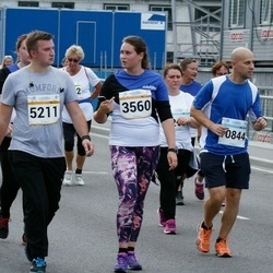 Tallinna Maratoni Sügisjooks 10 km - Henri Potter (5211), Alvar Udras (10844)
