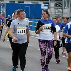 Tallinna Maratoni Sügisjooks 10 km - Henri Potter (5211), Tiia Tammik (9027), Alvar Udras (10844)