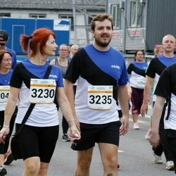Tallinna Maratoni Sügisjooks 10 km - Anu Elmi (3230), Henrik Steen Kristiansen (3235), Anders Gjerde Sørbotten (3237)