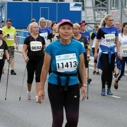 Tallinna Maratoni Sügisjooks 10 km - Ülle Pajumets (8155), Kaia Karlep (9692), Triin Hindrikus (9698), Birgit Veermäe (9699), Pille Vennikas (11413)