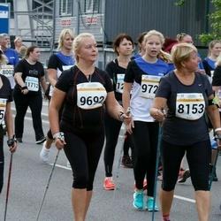 Tallinna Maratoni Sügisjooks 10 km - Ingrid Herrmann (8153), Ülle Pajumets (8155), Kaia Karlep (9692), Birgit Veermäe (9699)