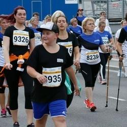 Tallinna Maratoni Sügisjooks 10 km - Olga Malgina (8239), Ljubov Fedotova (8242), Remi Kuuseorg (8935), Brigitta Pihlakas (8954)