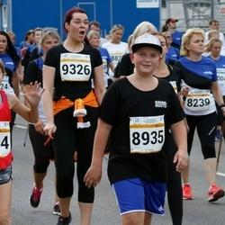 Tallinna Maratoni Sügisjooks 10 km - Olga Malgina (8239), Remi Kuuseorg (8935), Brigitta Pihlakas (8954), Merike Schults (9326)