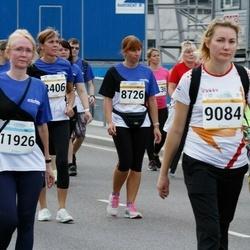 Tallinna Maratoni Sügisjooks 10 km - Andra Valdmets (8726), Olga Ignatjeva (9084), Juta Varik (11926)