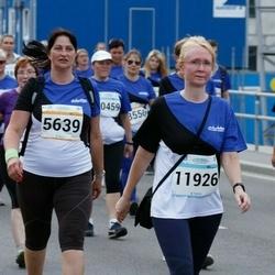 Tallinna Maratoni Sügisjooks 10 km - Ille Valgma (5639), Andra Valdmets (8726), Juta Varik (11926)