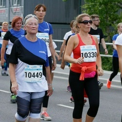 Tallinna Maratoni Sügisjooks 10 km - Svetlana Grigorjeva (10315), Ingrid Madsen (10330), Anna Mõttus (10449)