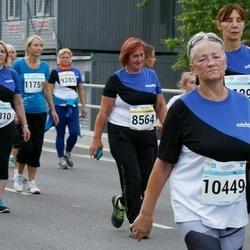 Tallinna Maratoni Sügisjooks 10 km - Anu Mets (8564), Anna Mõttus (10449), Lili Jürissoo (12310)