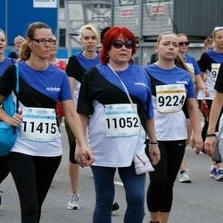 Tallinna Maratoni Sügisjooks 10 km - Berit Ränk (1708), Kristiina Agu (9224), Eha Nass (11052), Ly Gailon (11415)