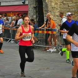 Tallinna Maratoni Sügisjooks 10 km - Ülo Metsar (510), Boriss Burkov (779), Raul Köster (1205), Maret Müür (6568)