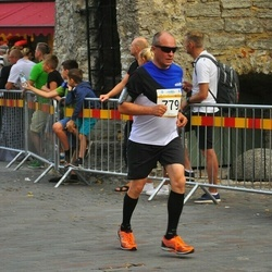 Tallinna Maratoni Sügisjooks 10 km - Tanel Paas (707), Boriss Burkov (779)