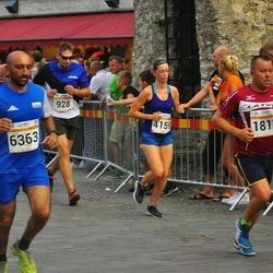 Tallinna Maratoni Sügisjooks 10 km - Andres Hallik (928), Jurijs Krupins (1817), Kazuya Yokota (3723), Agate Kristapsone (4159), Kirendip Chheena (6363)