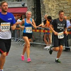 Tallinna Maratoni Sügisjooks 10 km - Elina Tomson (1138), Ago Veskimäe (3331), Mikk Kerge (3763)