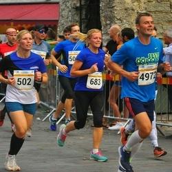 Tallinna Maratoni Sügisjooks 10 km - Kristel Turja (502), Maris Freudenthal (683), Arlis Pipenberg (4972)