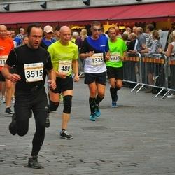 Tallinna Maratoni Sügisjooks 10 km - Kaupo Kangur (480), Tõnu Sepp (1338), Bogdan Tkatšuk (3515), Ott Levisto (5933)