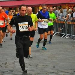 Tallinna Maratoni Sügisjooks 10 km - Meelis Pirn (1198), Tõnu Sepp (1338), Bogdan Tkatšuk (3515)
