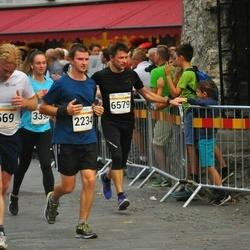 Tallinna Maratoni Sügisjooks 10 km - Björn Moritz (569), Atis Matisons (2234), Heiki Rannas (6579)