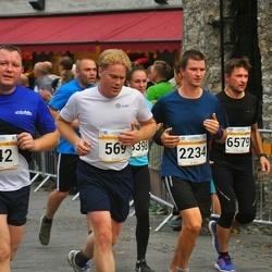 Tallinna Maratoni Sügisjooks 10 km - Björn Moritz (569), Andrei Nikiforov (642), Atis Matisons (2234), Heiki Rannas (6579)
