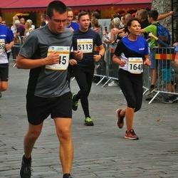 Tallinna Maratoni Sügisjooks 10 km - Ülli Krilovs (1643), Arno Lauk (5113)