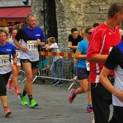 Tallinna Maratoni Sügisjooks 10 km - Aare Kilp (1195), Luule Lipp (4767)