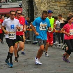 Tallinna Maratoni Sügisjooks 10 km - Nikolai Postusenko (4928), Artur Kask (6642)