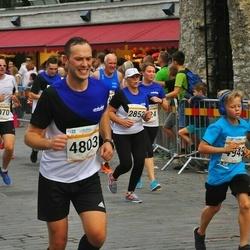 Tallinna Maratoni Sügisjooks 10 km - Marko Verhovitš (4803), Anderi Povodov (4946)