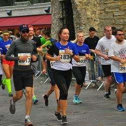 Tallinna Maratoni Sügisjooks 10 km - Berit Vals (1834), Ingrid Krall (2822), Bogdan Demidov (3925), Liis Laumets (4403), Andrus Kaasik (5762)