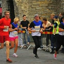 Tallinna Maratoni Sügisjooks 10 km - Tanel Uibokand (1559), Aleksandra Michalak (3254), Sirlika Kampus (5118), Art?rs Reinvalds (6351)