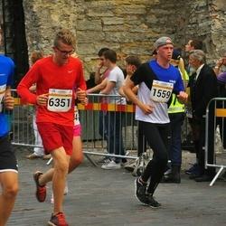 Tallinna Maratoni Sügisjooks 10 km - Tanel Uibokand (1559), Raganr Popell (5534), Art?rs Reinvalds (6351)