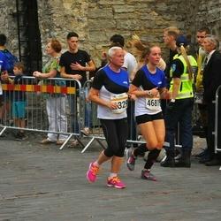 Tallinna Maratoni Sügisjooks 10 km - Ilona Kokk (2329), Agnes Aguraiuja (4681), Janek Minnik (6229)