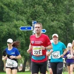 Tallinna Maraton - Anatoliy Andreev (221), Outi Munnukka (955), Kaili Vainumaa (1006)